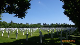 American war cemetary at 'Romagne-sous-Montifaucon. One of a great many in this area - well illustrating the huge loss of life.