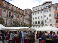 Market day in Coimbra
