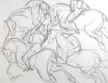 Polo Series – on paper I