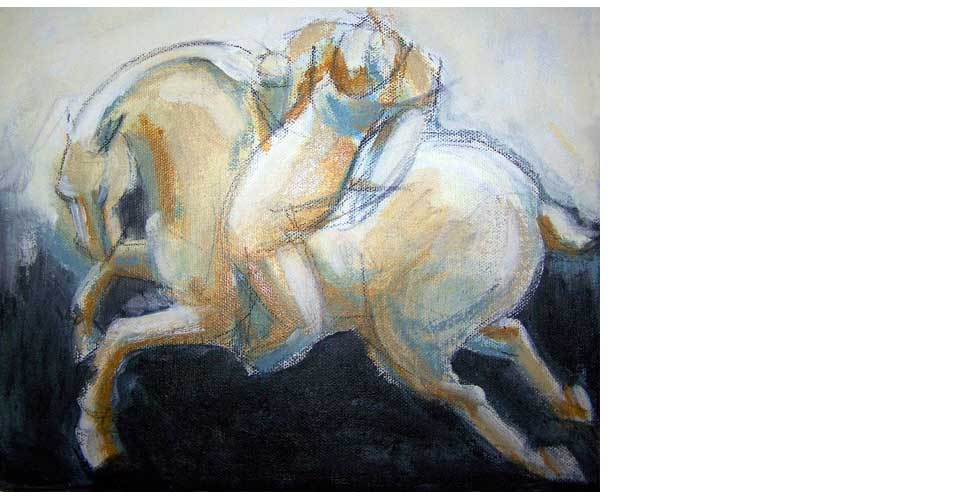 Polo-Rider-Small-Acrylic-Painting-OPT