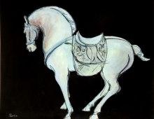 Blue Saddle Tang