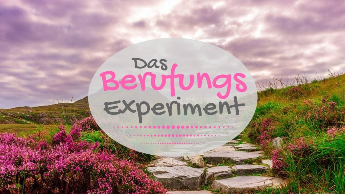Das Berufungs-Experiment - Wie wählst DU?