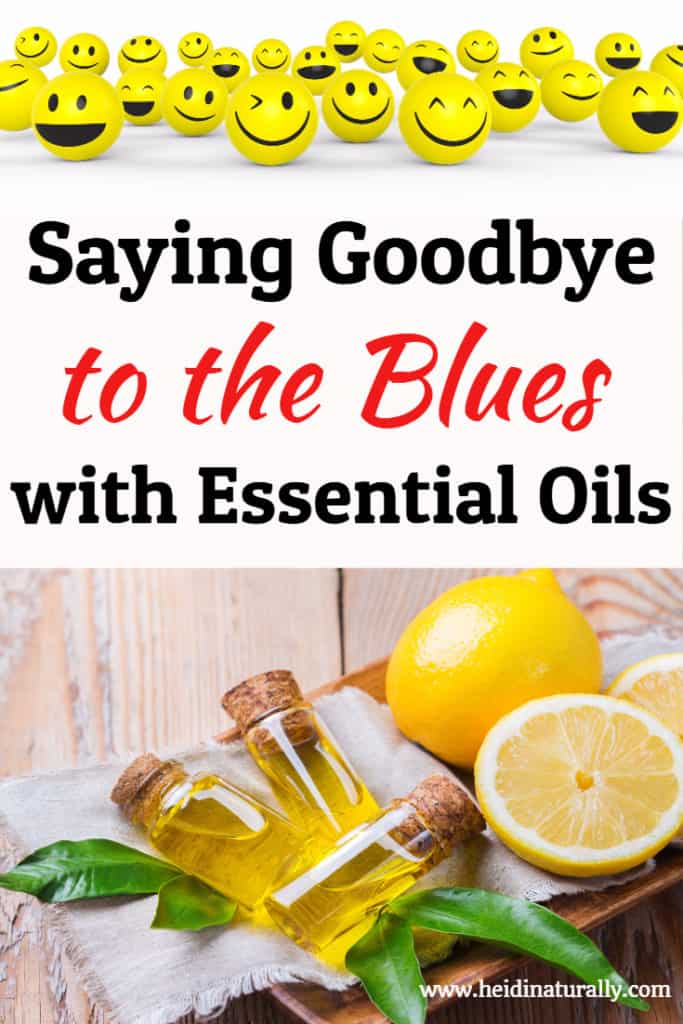 essential oils and the blues