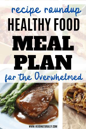 Meal Plan Healthy Food