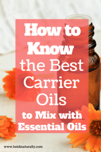 Essential Oil Carrier Oil