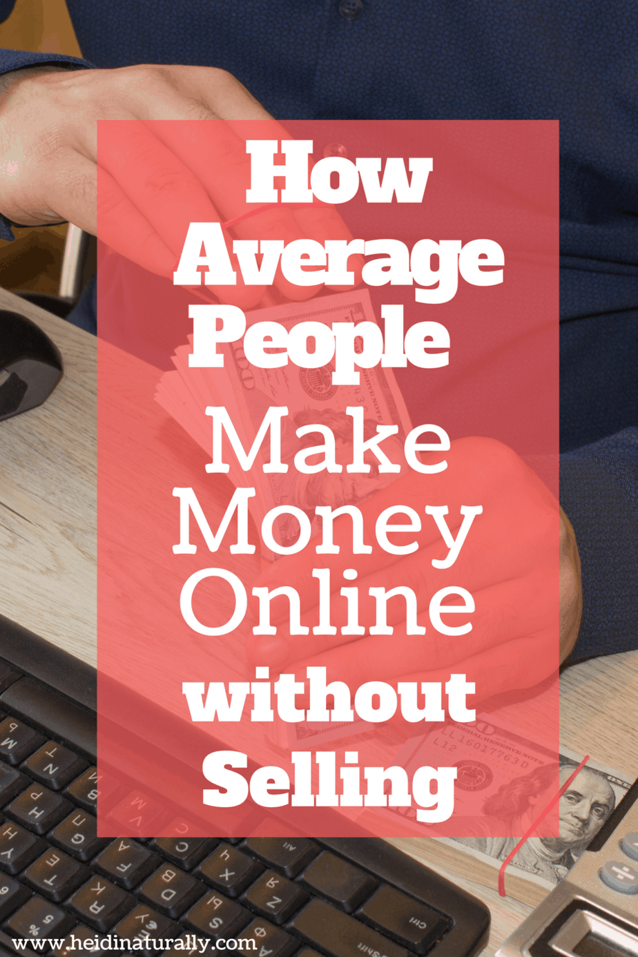 Find out how average people make money online without selling or bugging their friends. Use this proven strategy and see your money grow every day without fail!