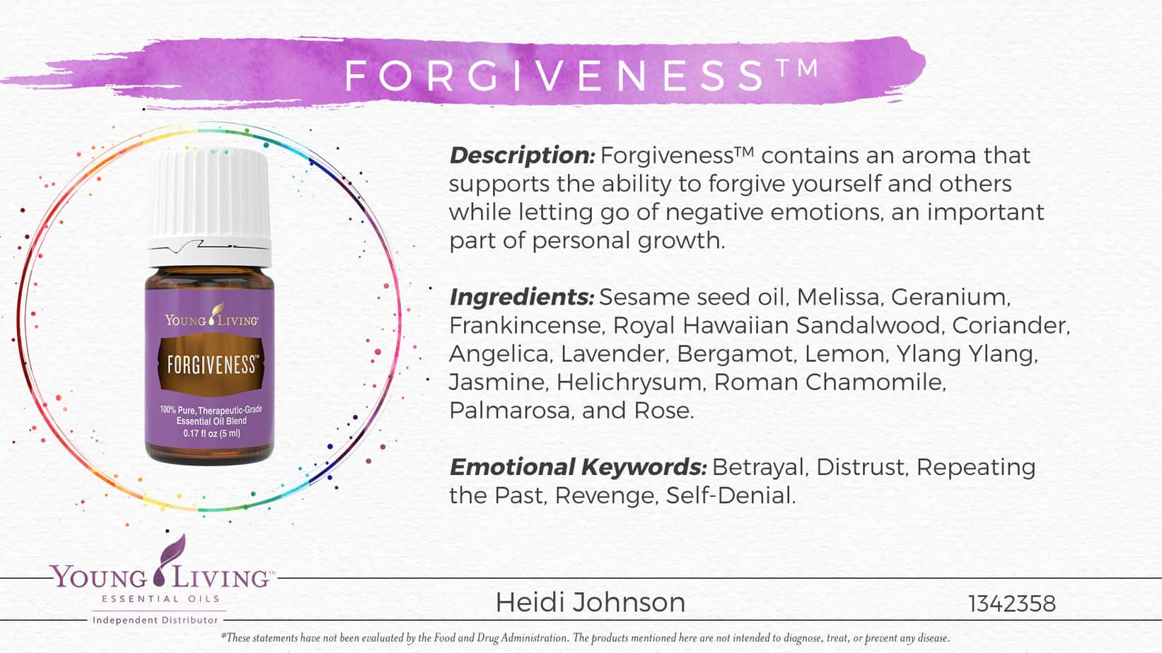 forgiveness essential oil