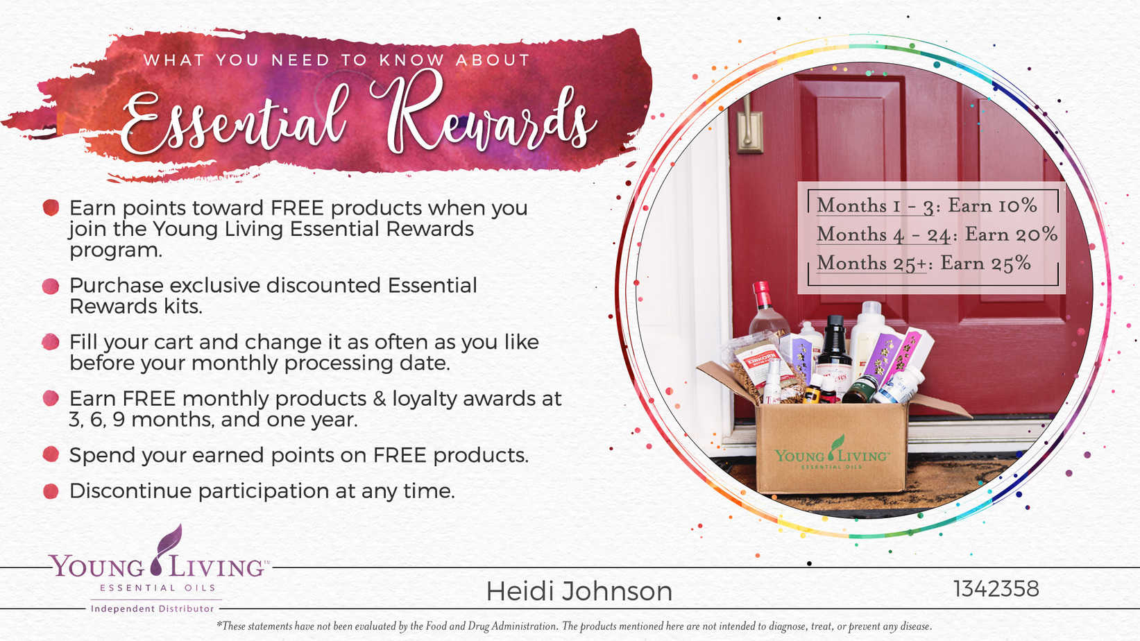 essential oil rewards