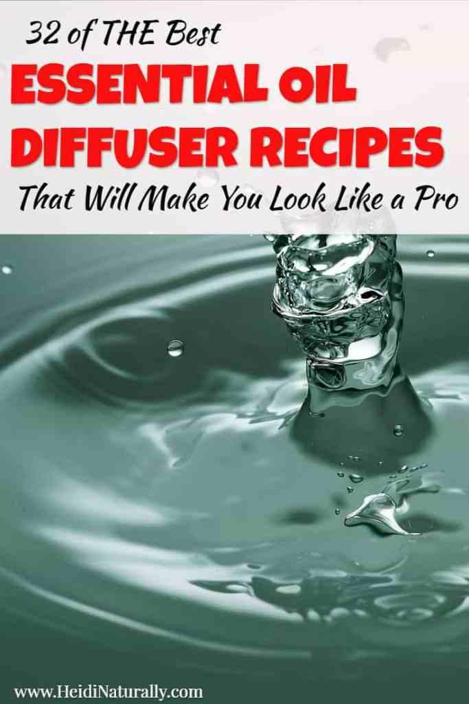 best essential oil diffuser recipes