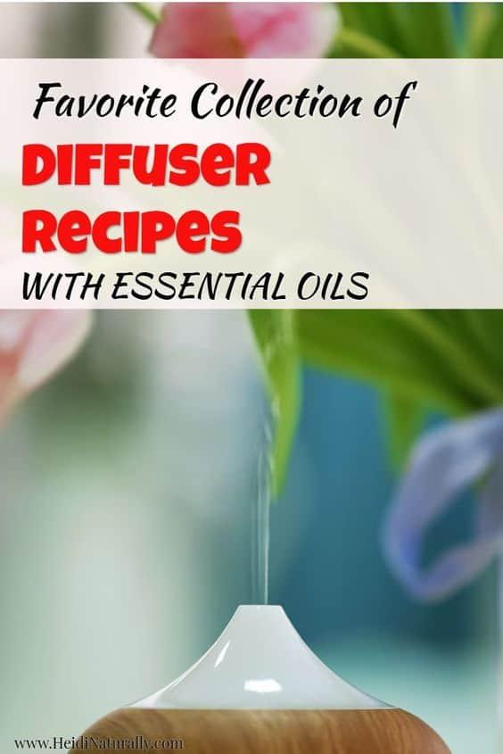 Essential oil diffuser recipes