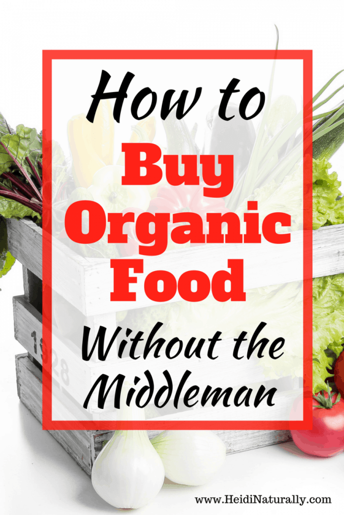 how to buy organic food without the middleman