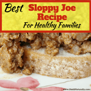 best sloppy joe recipe