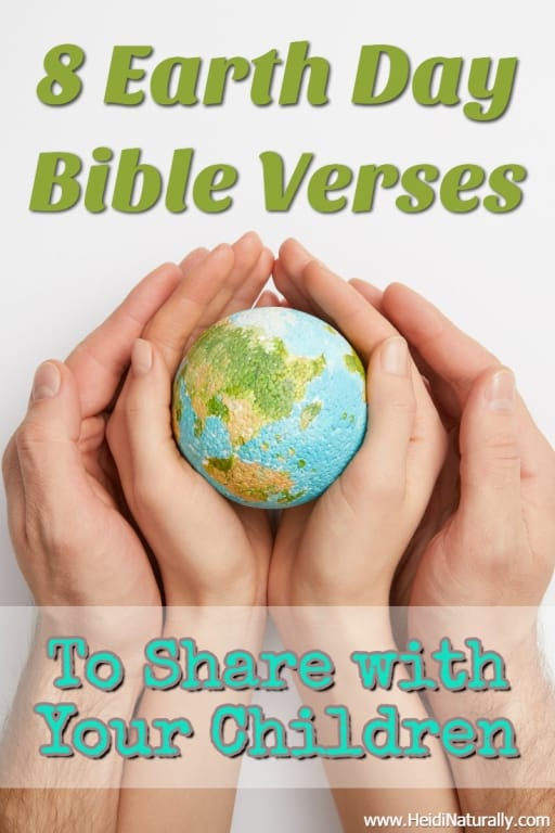 Earth Day Bible verses for children