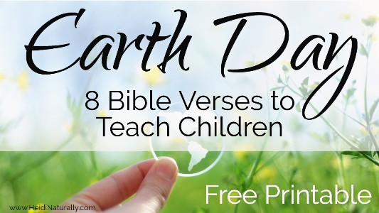 Earth Day Bible Verses