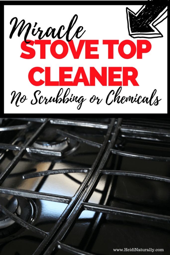 miracle stove top cleaner