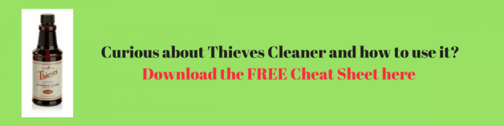 thieves cleaner cheat sheet