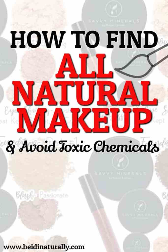 chemical free makeup