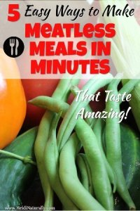5 Really Easy Ways to Make an Amazing Meatless Dinner in Minutes 1