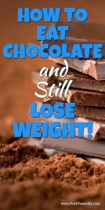 How to Eat Chocolate and Lose Weight 1