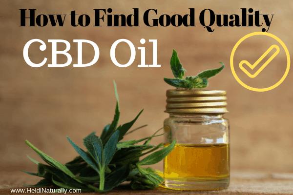 quality CBD oil