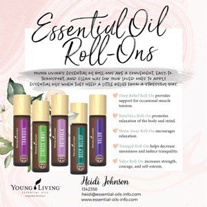 essential oil roll ons