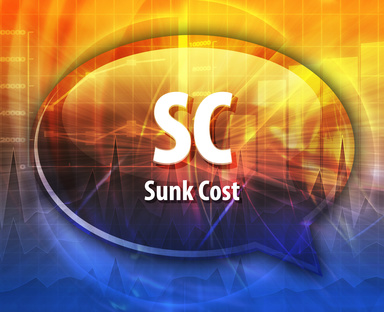 are sunk costs impacting your decision making
