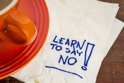 the subtle art of saying no