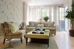 Family Room by Interior Designer Boston & Cambridge, Heidi Pribell