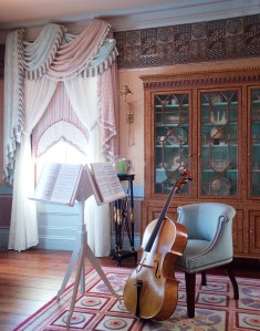 Music Room by Interior Designer Boston & Cambridge, Heidi Pribell