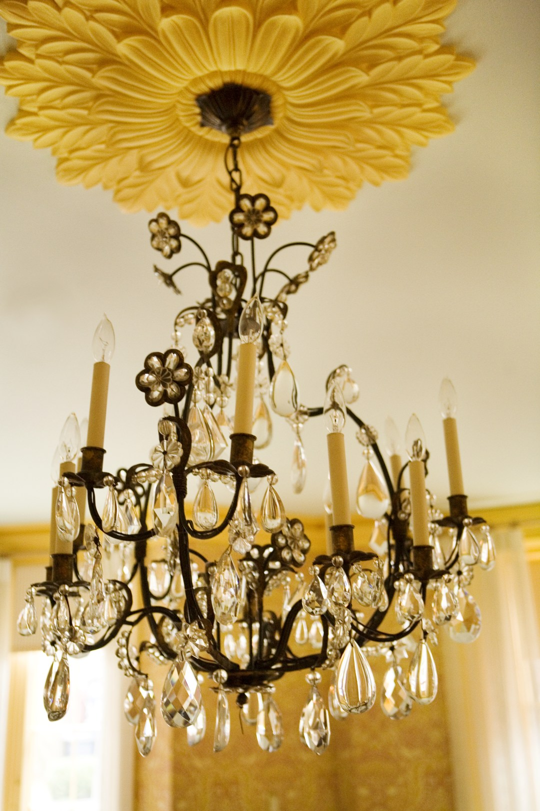 Heidi Pribell Yellow Chandelier