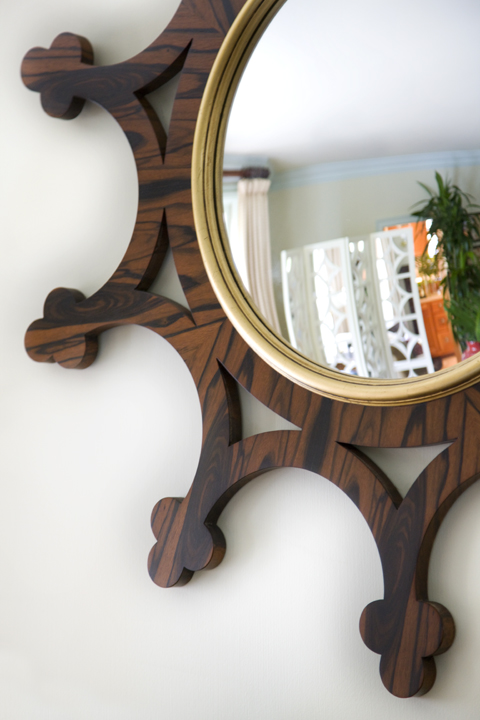 Heidi Pribell mirror detail