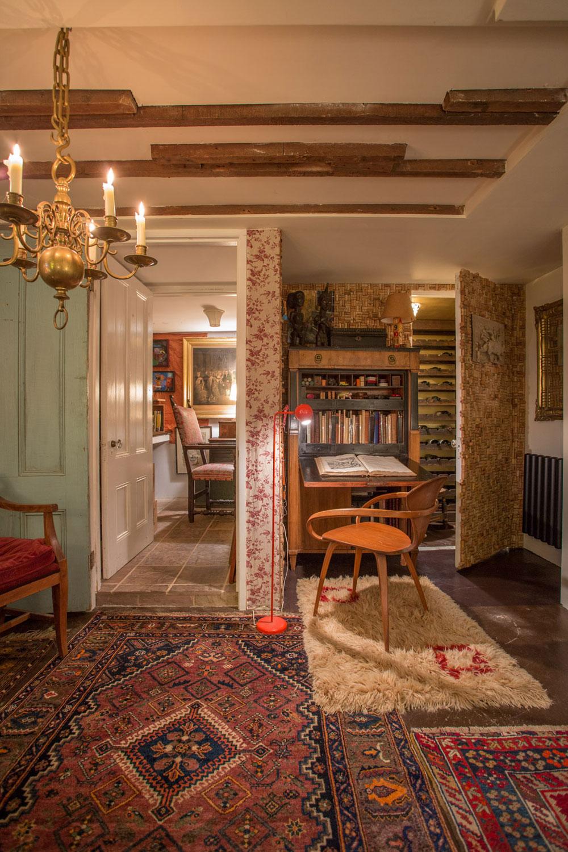 Study by Interior Designer Boston & Cambridge, Heidi Pribell