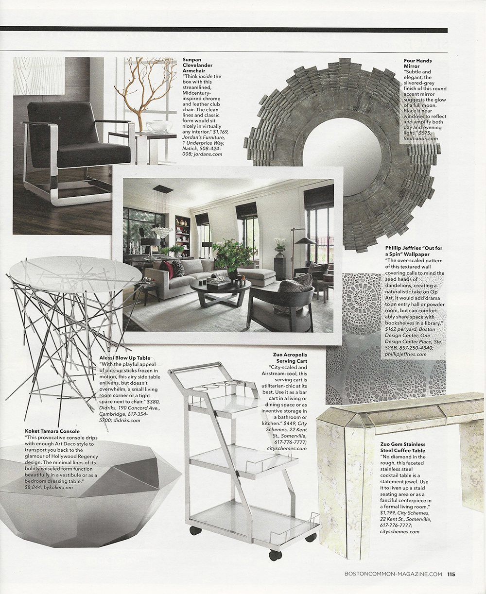 Interior Design Boston Common Metals - Page 2