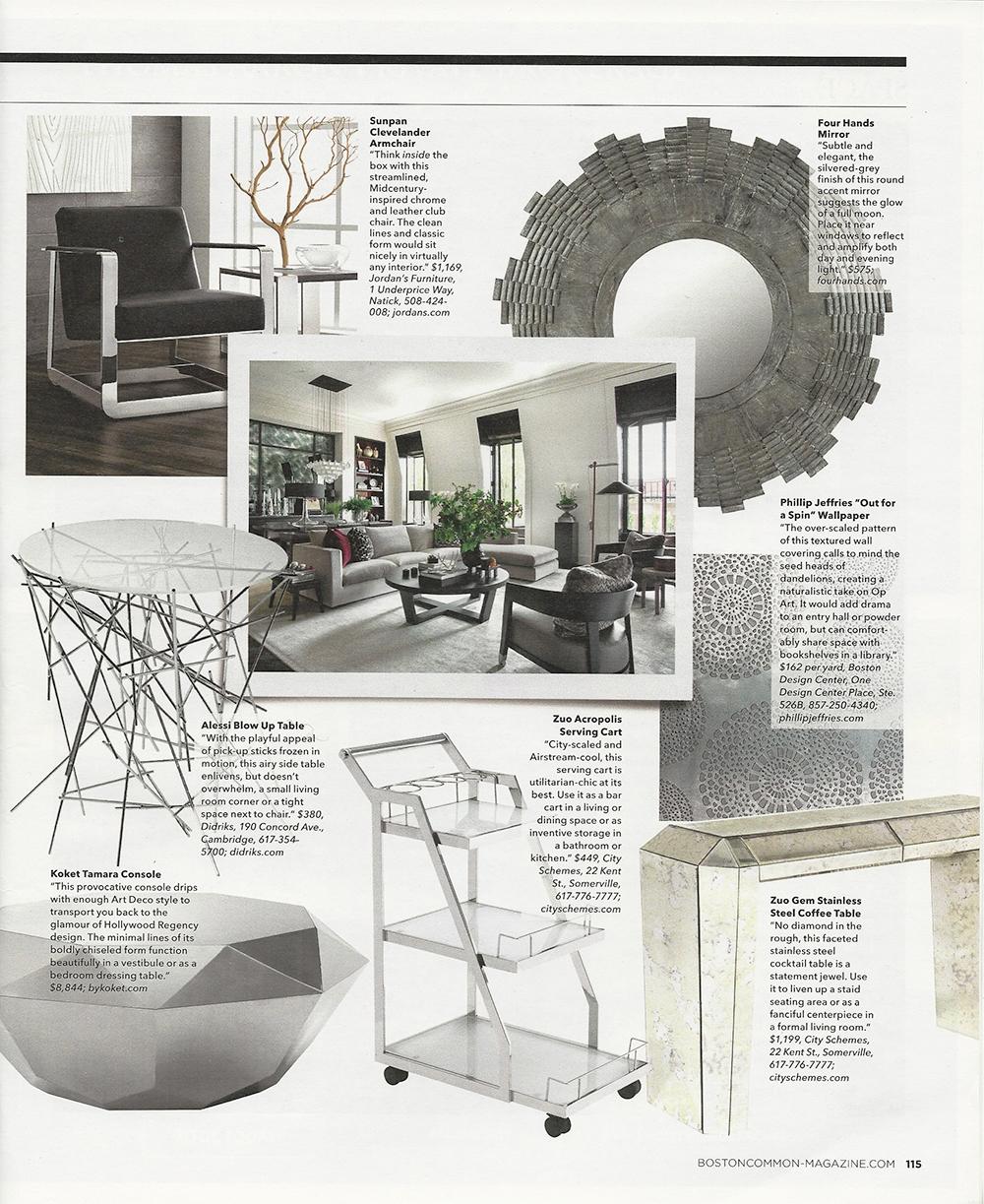 Interior Design Boston Common Metals - Page 2