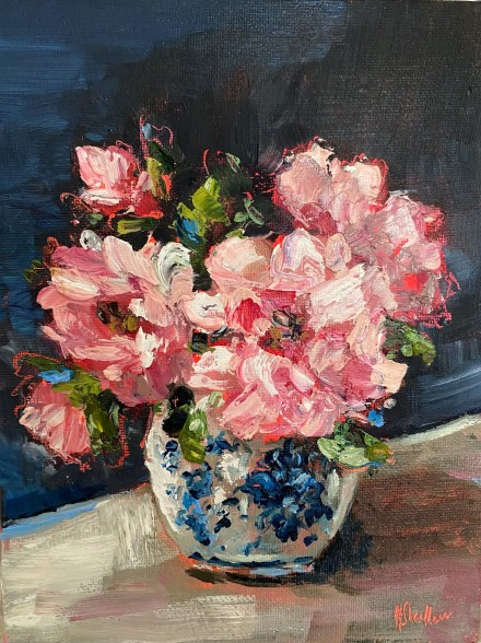 Paintings in the post by Heidi Shedlock