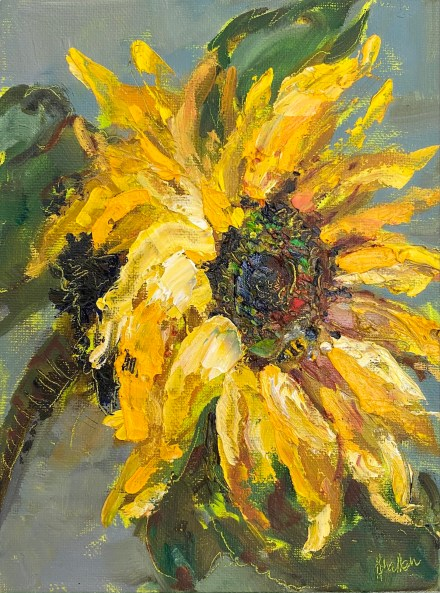 Paintings in the post sunflower 902