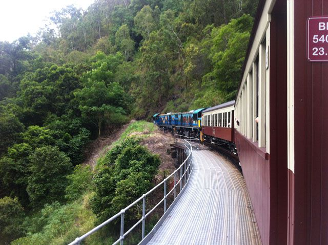 Kuranda Scenic Railway – Adventure Travel Queensland Australia