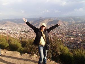 Heidi_Siefkas_and_Look_Up_from_Cuzco_Peru