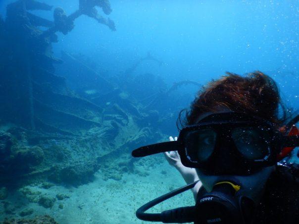 Heidi_Siefkas_selfie_SCUBA_Grand_Cayman