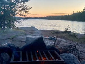 Sunset_and_Firepit_Boundary_Waters_Minneota