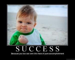 accomplishment feels good