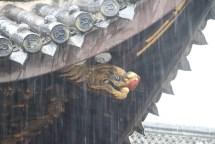 Zuweilen wäre auch ein Drache gegen Regen nicht verkehrt.
