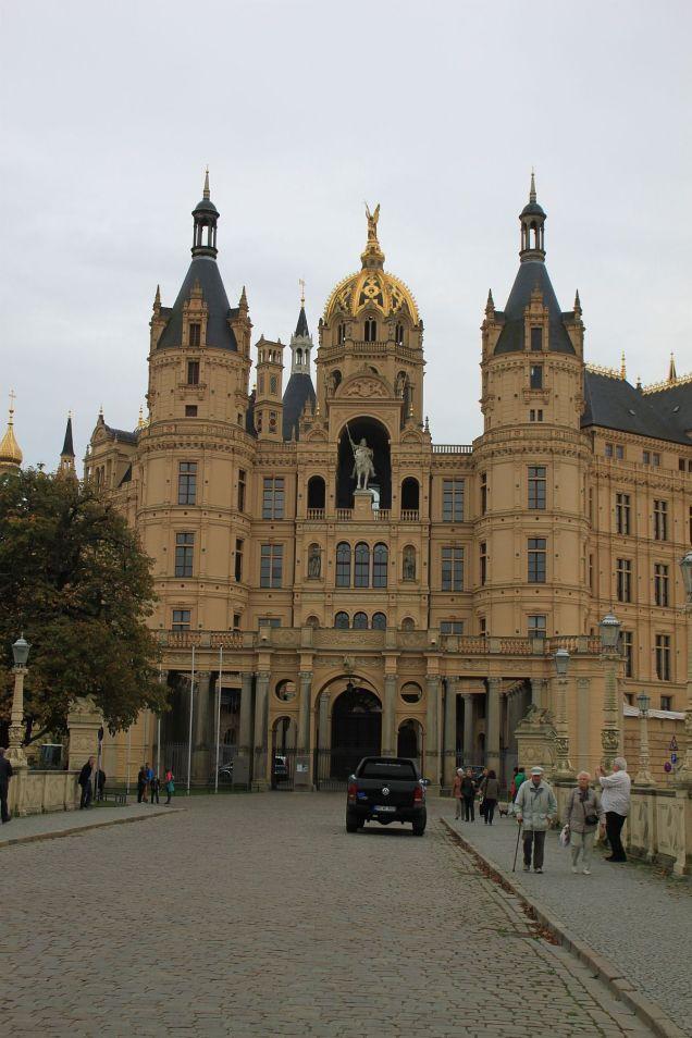 Das Schloss ist heute viel goldener als vor 25 Jahren.