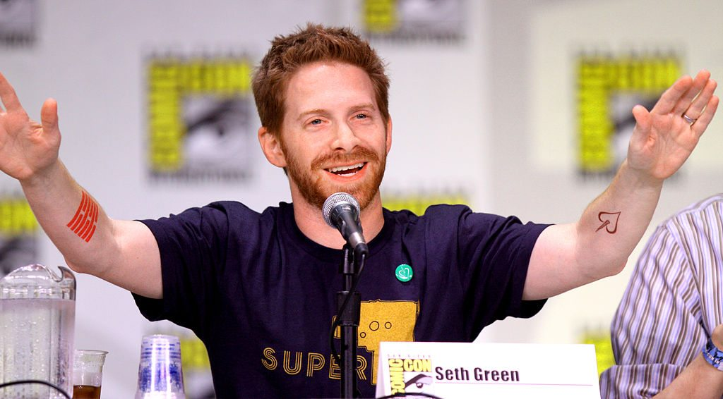 Seth Green's height 2