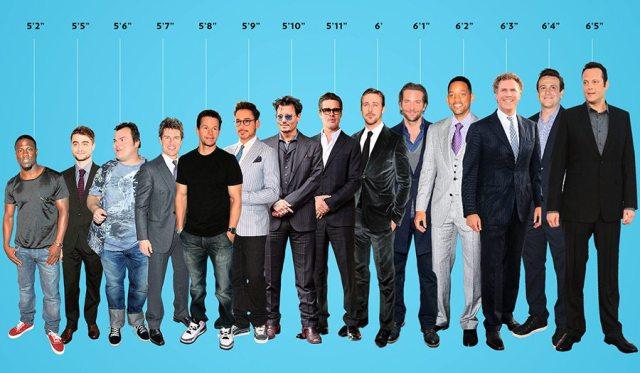 Bradley Cooper's height 4