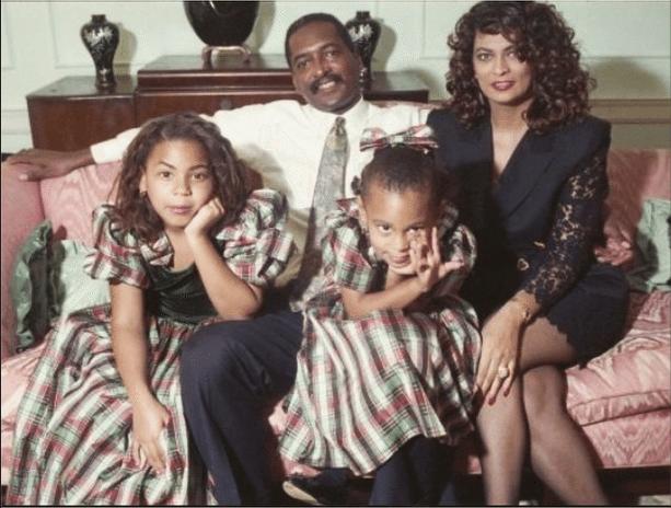 Beyonce sister dad and mom