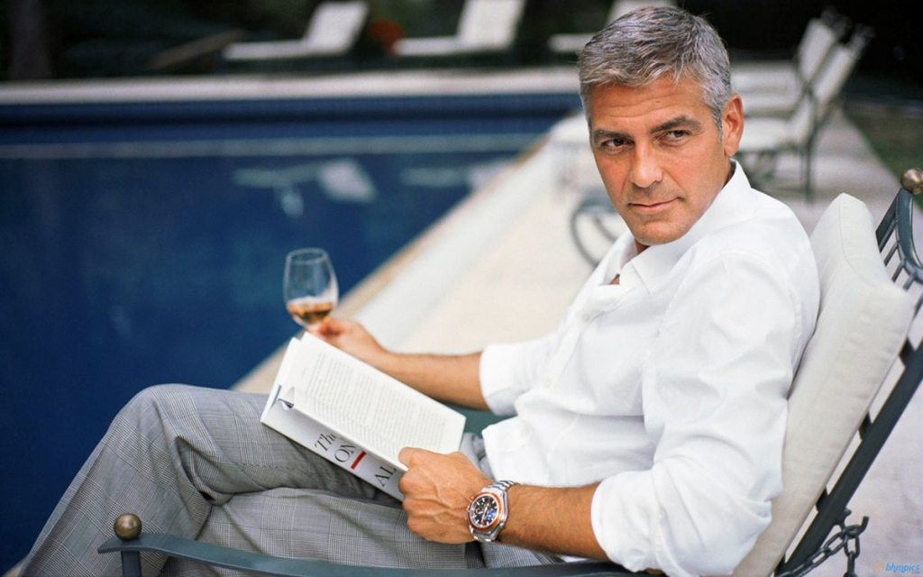 George Clooney's height 2