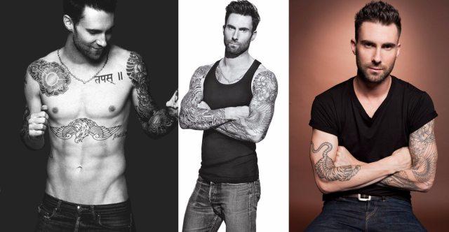 Adam Levine Body