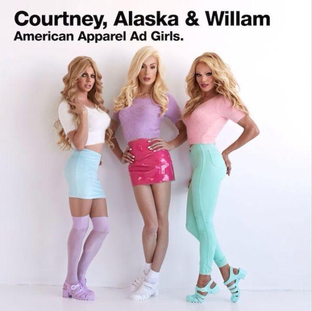 Courtney, Alaska and Willam Belli