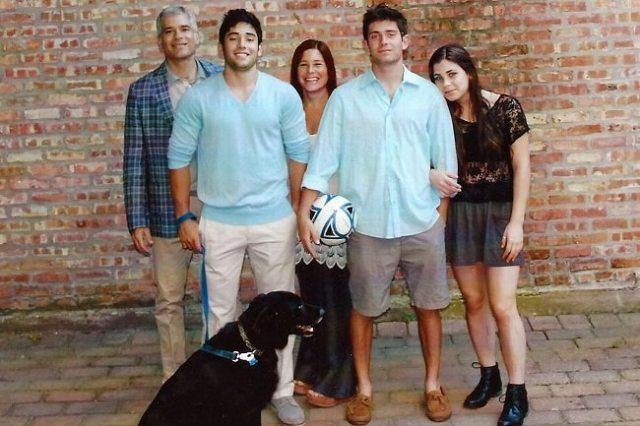Amy Krouse Rosenthal family